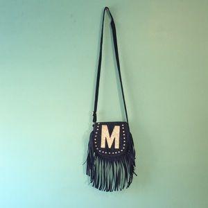 navy blue purse